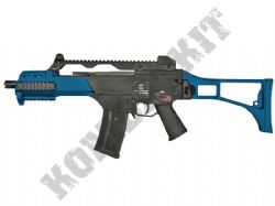 WE R-G001 999C G36 Replica Gas Blowback Airsoft BB Machine Gun 2 Tone Blue Black